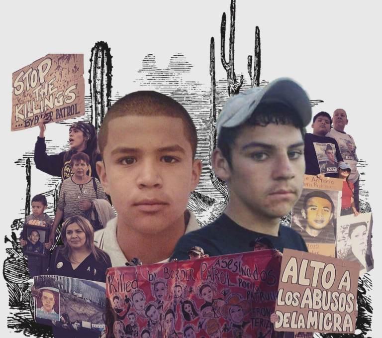 José Antonio Elena Rodríguez, de 16 años, y de Sergio Adrián Hernández Güereca, de 15 años, ambos fueron asesinados, estando en el lado de México, por disparos de agentes de la Patrulla Fronteriza.
